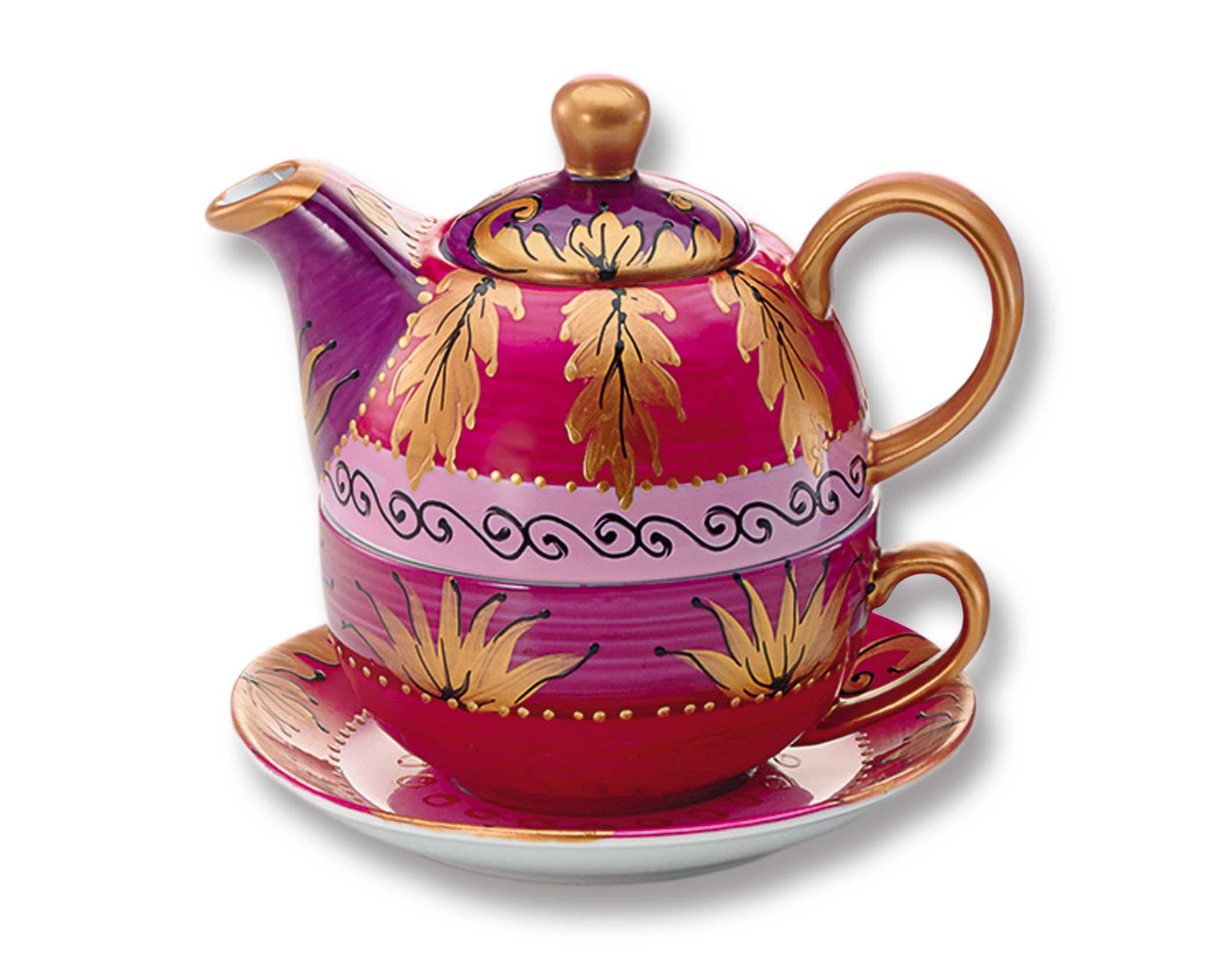 teehaus tea more tee online shop teeversand tea for one alani 1 set. Black Bedroom Furniture Sets. Home Design Ideas
