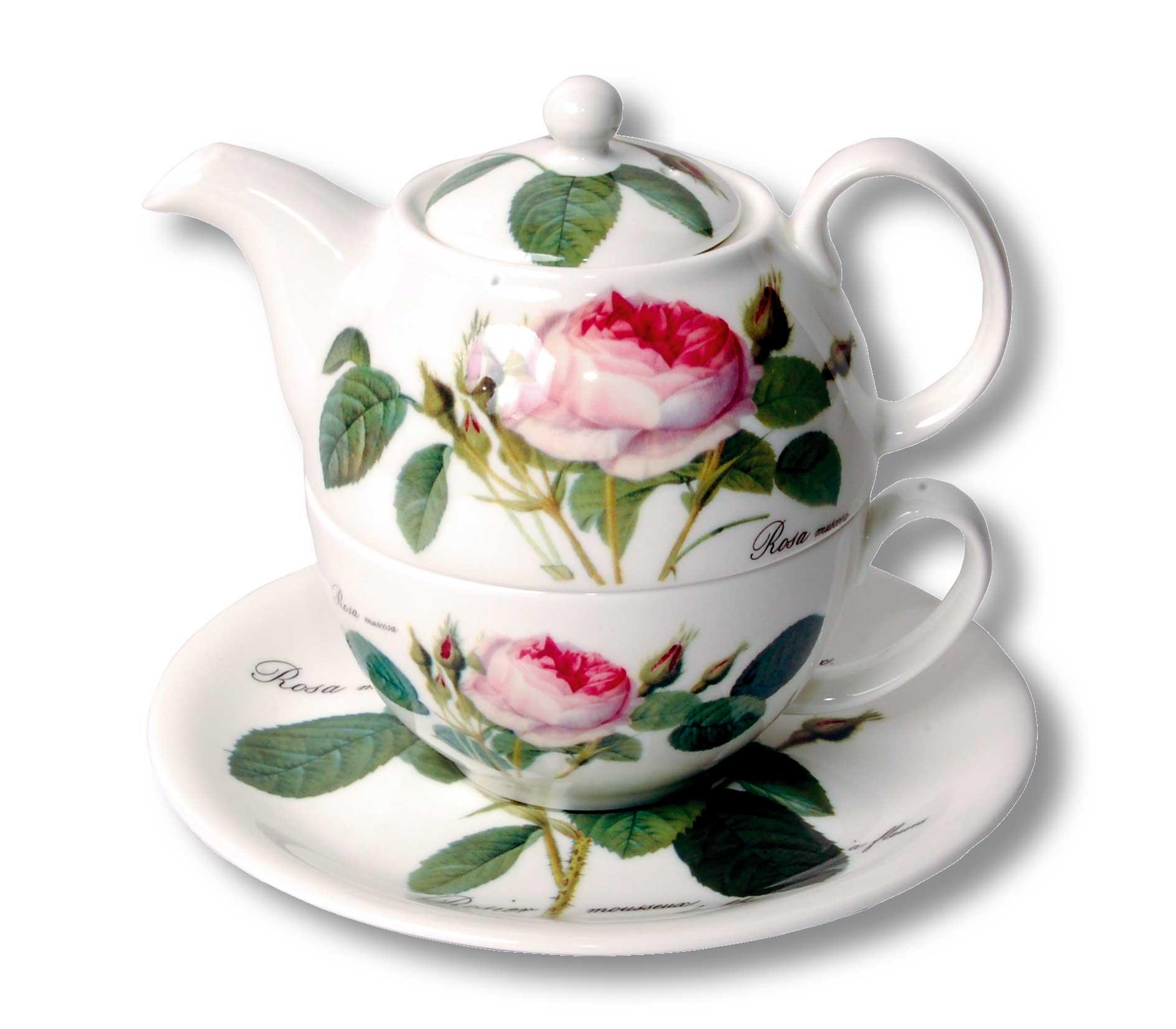 teehaus tea more tee online shop teeversand roy kirkham redoute rose porzellan tea for. Black Bedroom Furniture Sets. Home Design Ideas