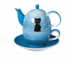 Tea for One Filou Cat - 1 Set
