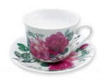 Roy Kirkham English Rose Jumbotasse und Untertasse 1 Stk