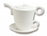 Tea for One BLANC PUR - 1 Set